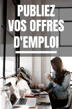 publier offre emploi